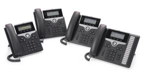 Cisco Teléfonos IP Phone 7800 Series